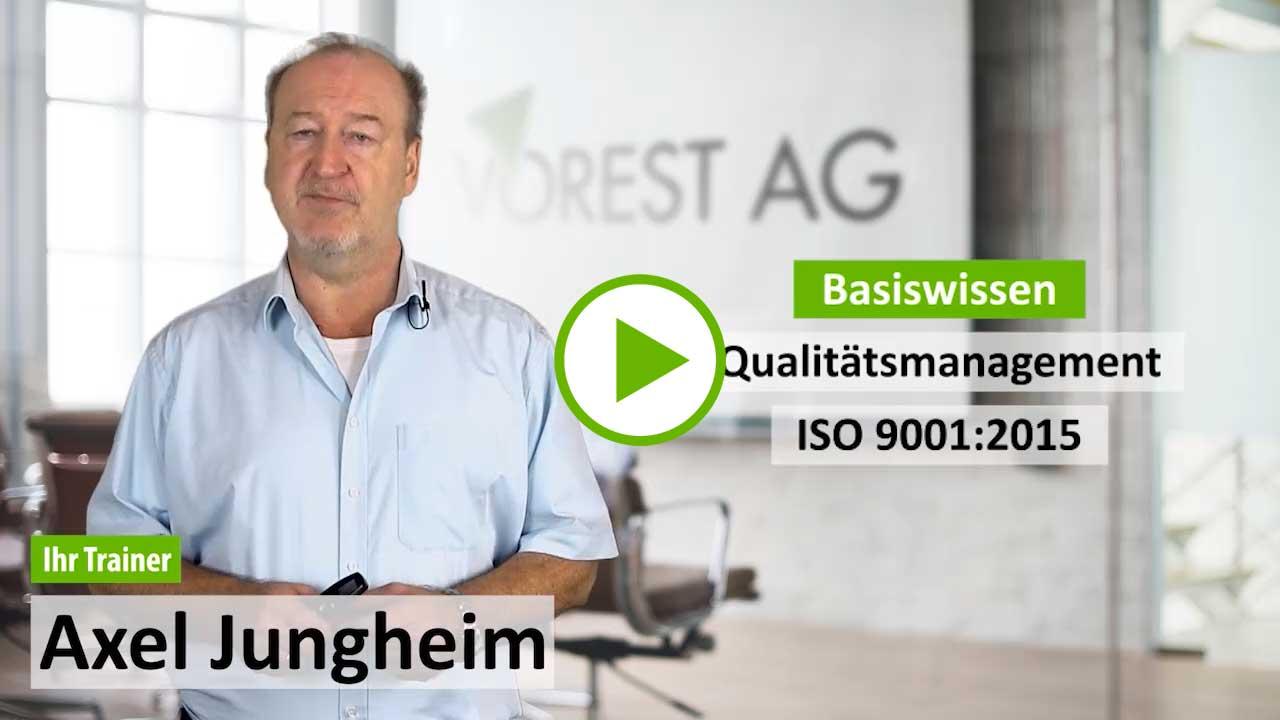 E-Learning ISO 9001 Qualitätsmanagement Grundlagen - Demo Kurs zu Ihrer Online Weiterbildung