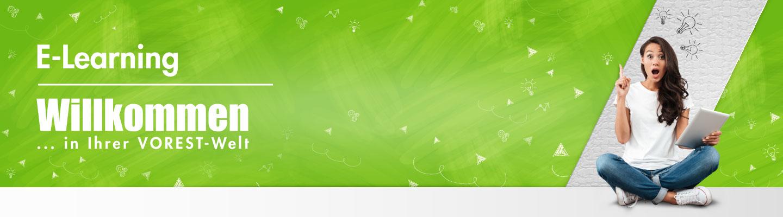 Banner Expertenbrief E-Learning-Seiten der VOREST AG